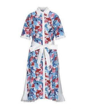 Платье длиной 3/4 I'M ISOLA MARRAS. Цвет: белый