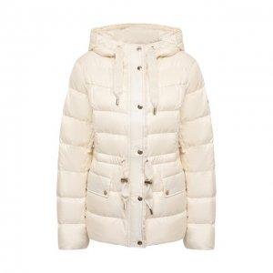 Пуховая куртка MICHAEL Kors. Цвет: белый