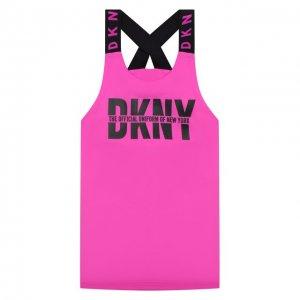 Топ DKNY. Цвет: розовый