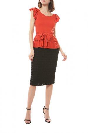 Блуза Dior. Цвет: оранжевый