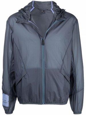 Куртка на молнии с капюшоном MCQ. Цвет: синий