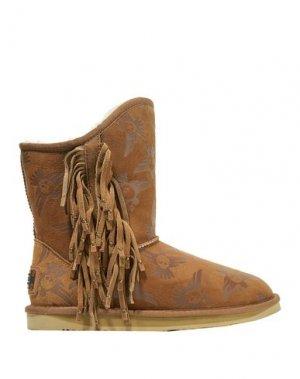 Полусапоги и высокие ботинки AUSTRALIA LUXE COLLECTIVE. Цвет: коричневый