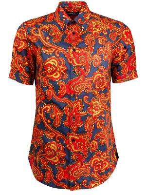 Рубашка с коротким рукавом A.MCQUEEN