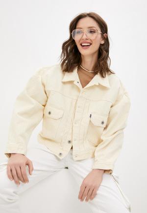 Куртка джинсовая Levis® Made & Crafted™ Levi's®. Цвет: желтый