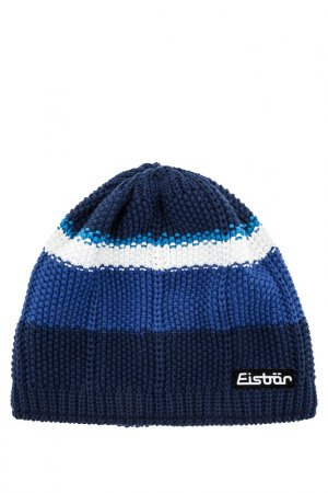 Шапка Eisbar. Цвет: синий