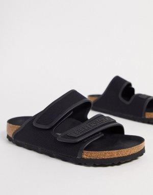 Черные спортивные сандалии -Черный Birkenstock