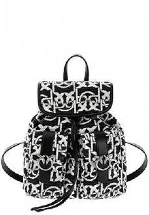 Рюкзак PINKO. Цвет: черный