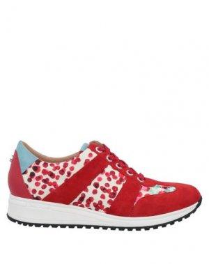Низкие кеды и кроссовки LONGCHAMP. Цвет: красный