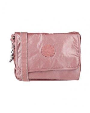 Сумка через плечо KIPLING. Цвет: розовый
