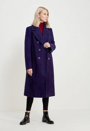 Пальто Nastasia Sabio. Цвет: синий