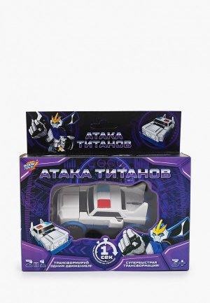 Робот Woow Toys трансформер Полицейский. Цвет: белый