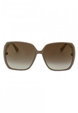 Солнцезащитные очки JIMMY CHOO. Цвет: бежевый
