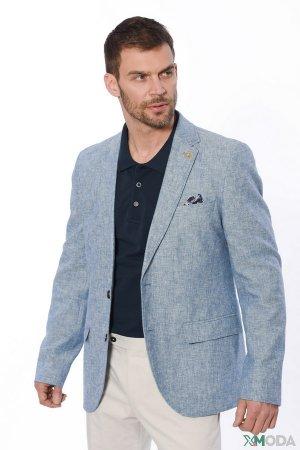 Пиджак Calamar. Цвет: голубой