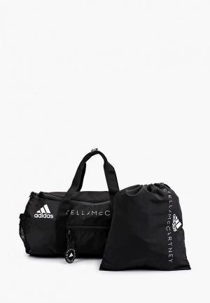 Сумка спортивная и мешок adidas by Stella McCartney ASMC STUDIO BAG. Цвет: черный