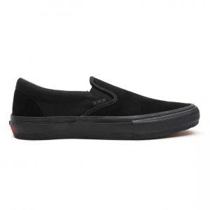 Слипоны Skate Slip-On Vans. Цвет: черный