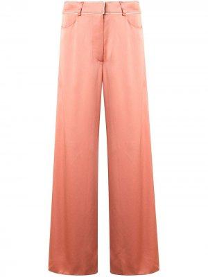 Укороченные брюки палаццо Peter Pilotto. Цвет: розовый