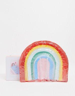 Дорожная подушка для ванной в цветах радуги Ban Do-Мульти DO