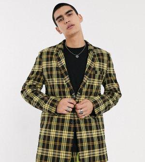 Oversized-пиджак в клетку COLLUSION-Мульти Collusion