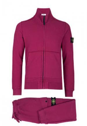 Спортивный костюм STONE ISLAND. Цвет: розовый