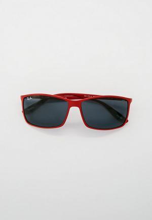 Очки солнцезащитные Ray-Ban® RB4179M F62887. Цвет: красный