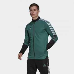 Олимпийка Equipment Tiro adidas. Цвет: зеленый