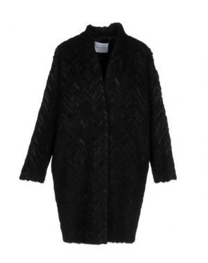 Пальто ANNA RACHELE. Цвет: черный