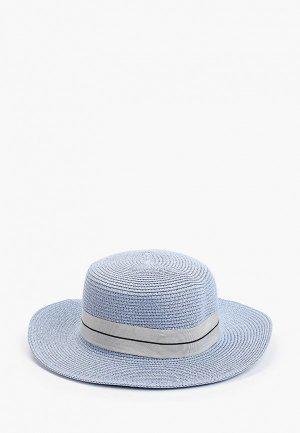 Шляпа Dispacci. Цвет: голубой