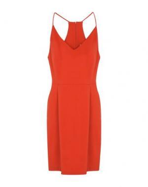 Короткое платье MINIMUM. Цвет: красный