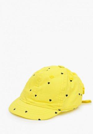 Бейсболка Coccodrillo. Цвет: желтый