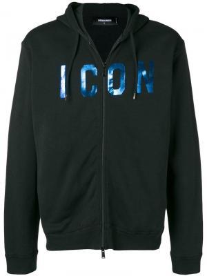 Куртка с капюшоном ICON Dsquared2