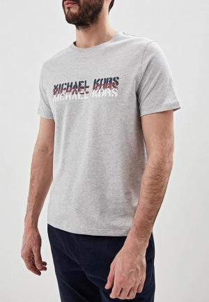 Футболка Michael Kors. Цвет: серый