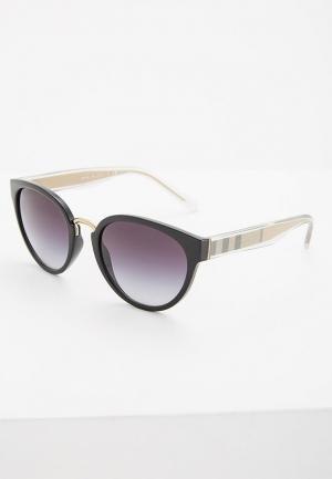 Очки солнцезащитные Burberry BE4249 30018G. Цвет: черный