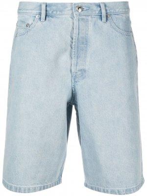 Джинсовые шорты A.P.C.. Цвет: синий