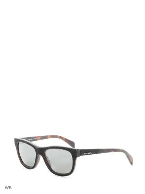 Солнцезащитные очки DL 0111 05C Diesel. Цвет: черный, серый