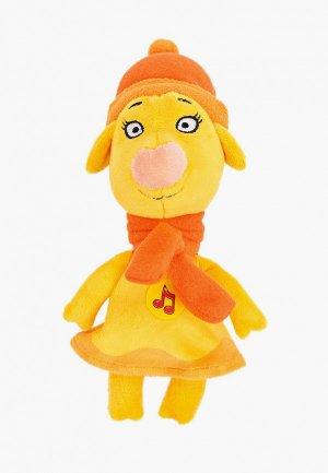 Игрушка интерактивная Мульти-Пульти Зо в зимней одежде, 21 см. Цвет: желтый