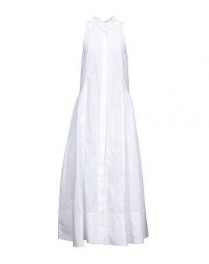 Длинное платье CAMILLA AND MARC. Цвет: белый