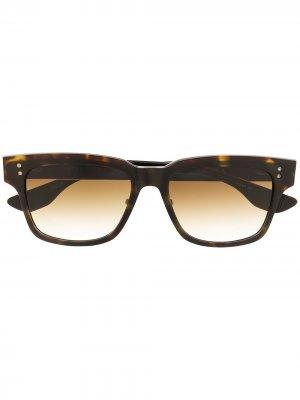 Солнцезащитные очки Auder Dita Eyewear. Цвет: коричневый
