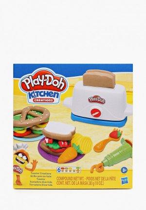 Набор для творчества Play-Doh Тостер. Цвет: разноцветный