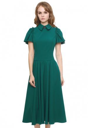Платье Marichuell PRALINE. Цвет: зеленый
