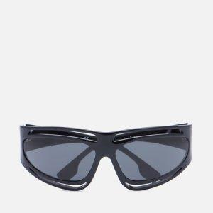 Солнцезащитные очки Eliot Burberry. Цвет: чёрный