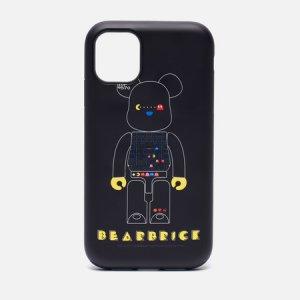 Чехол Pac-Man Be@rbrick iPhone 11 Medicom Toy. Цвет: чёрный