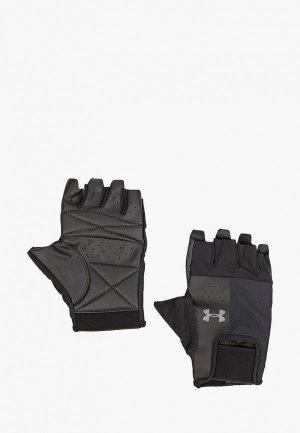 Перчатки для фитнеса Under Armour UA Mens Training Glove. Цвет: черный