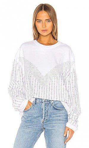 Пуловер sinead Frankie B. Цвет: белый