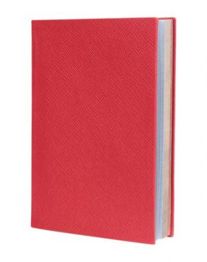 Записная книжка SMYTHSON. Цвет: красный