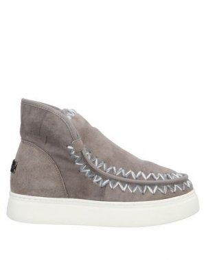 Полусапоги и высокие ботинки MOVIE'S. Цвет: серый