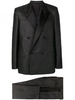 Классический костюм с двубортным пиджаком Givenchy