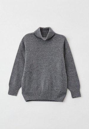 Свитер Norveg Cashmere&Merino blend. Цвет: серый