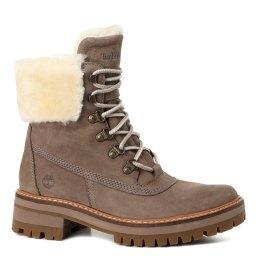 Ботинки Courmayeur Shearling Boot коричнево-серый TIMBERLAND