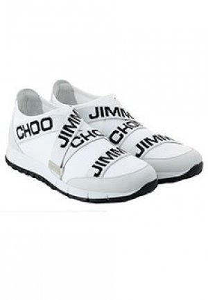 Кроссовки JIMMY CHOO. Цвет: белый