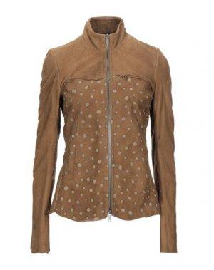 Куртка 10SEI0OTTO. Цвет: хаки